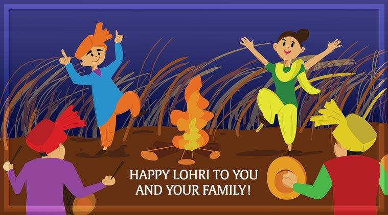 Happy Lohri Instagram Pics