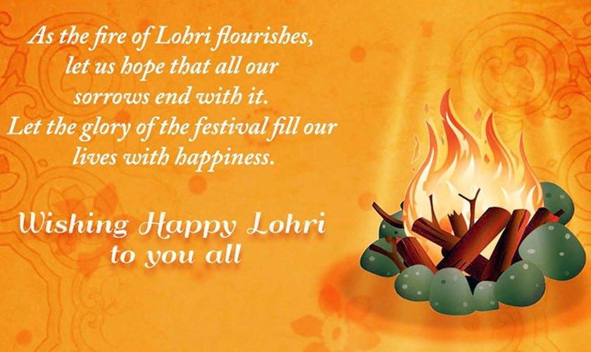 Happy Lohri Whatsapp Status