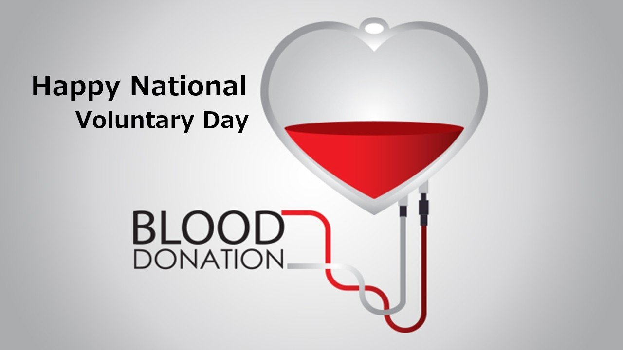 Happy National Voluntary Blood Donation Day Pictures