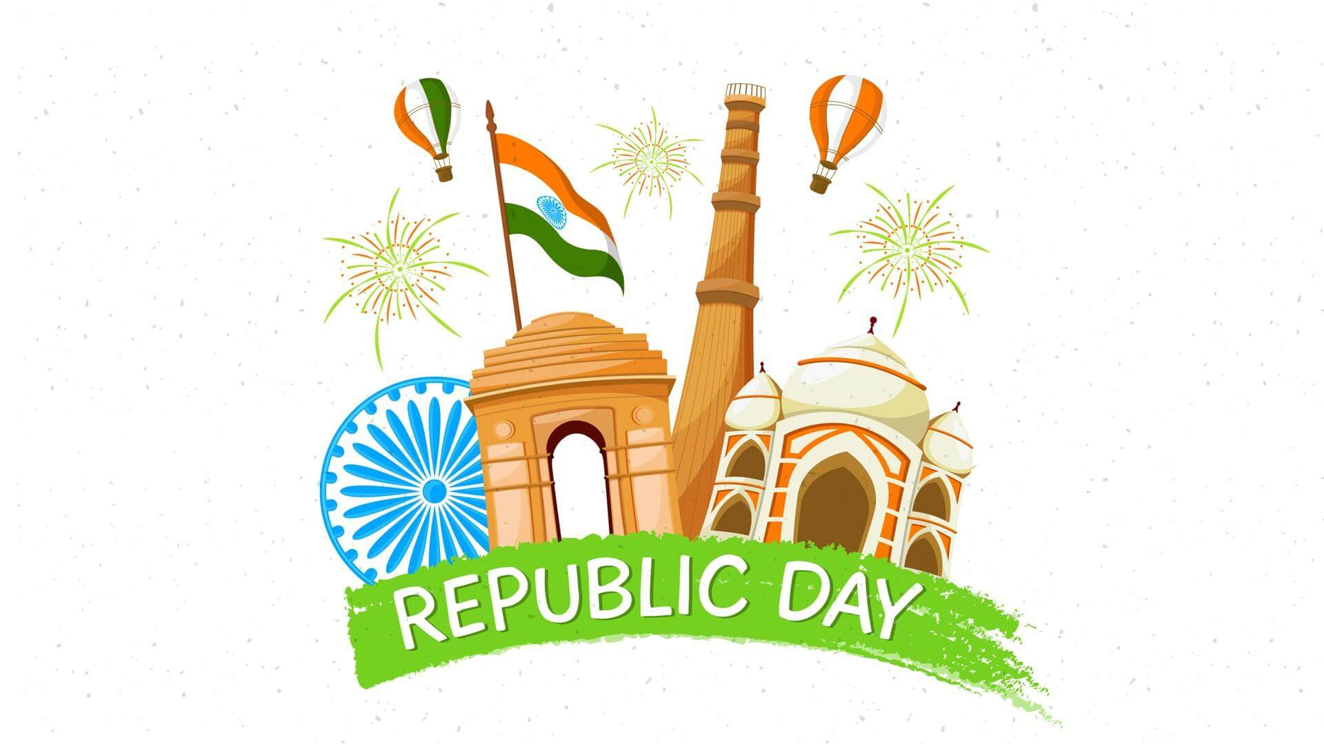 Happy Republic Day Text