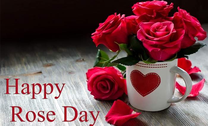 Happy Rose Day Wishes For Husband Wife