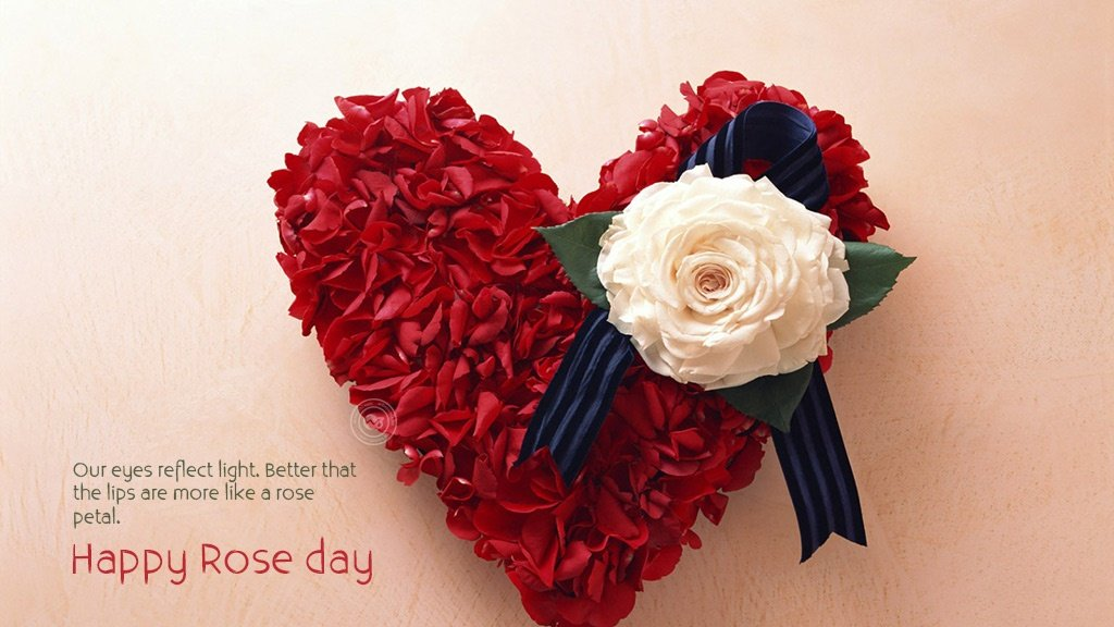 Heart Images of Rose Day