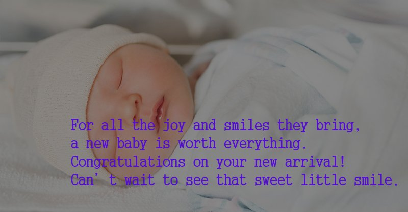 New Baby Girl Wishes Images