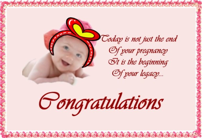 Wishes For New Born Baby