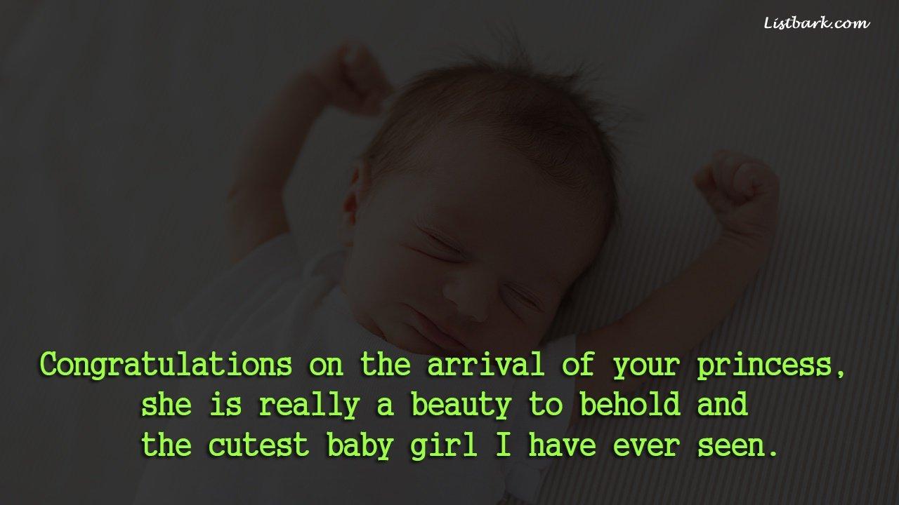 Wonderful Newborn Baby Wishes