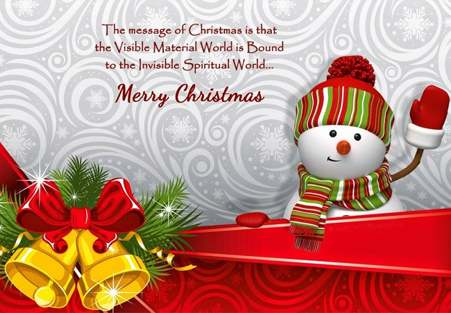 Wordings on Christmas Day
