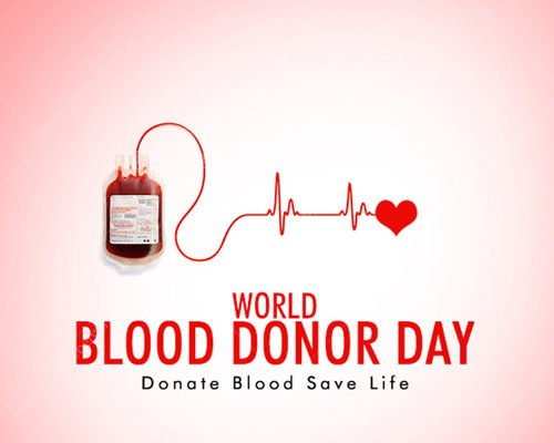 World Blood Donor Day June 14 Greeting Card