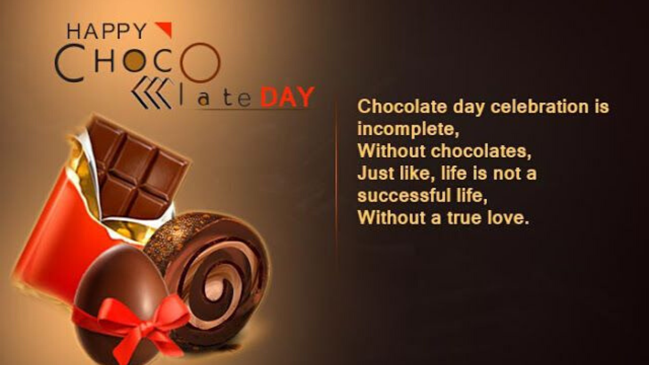 Chocolate Day Messages In English