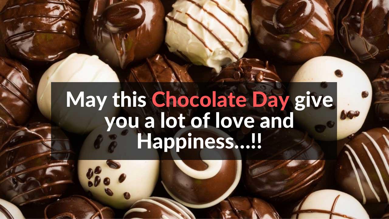 Chocolate Day Whatsapp Message