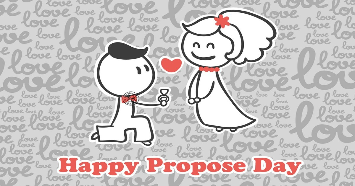 Cute Baby Propose Images