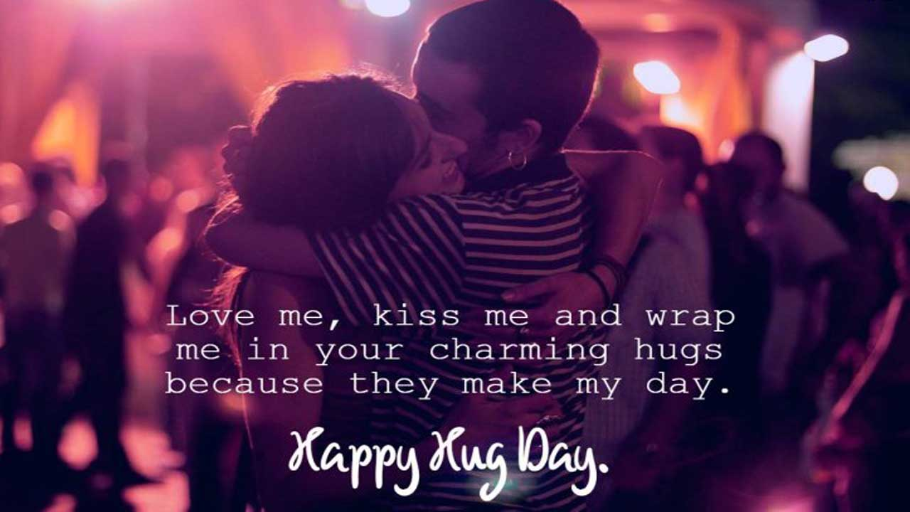 Happy Hug Day Messages