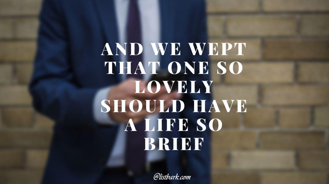 Heartfelt Sympathy Quotes