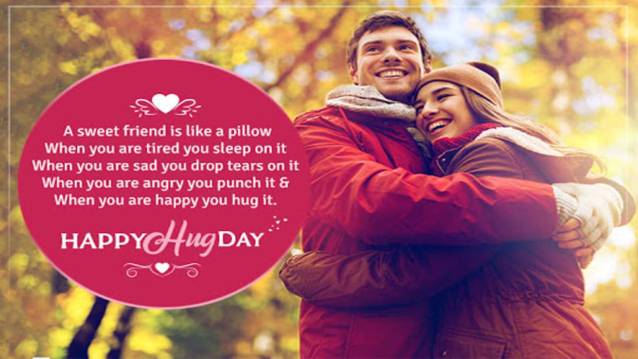 Hug Day Messages For Couple