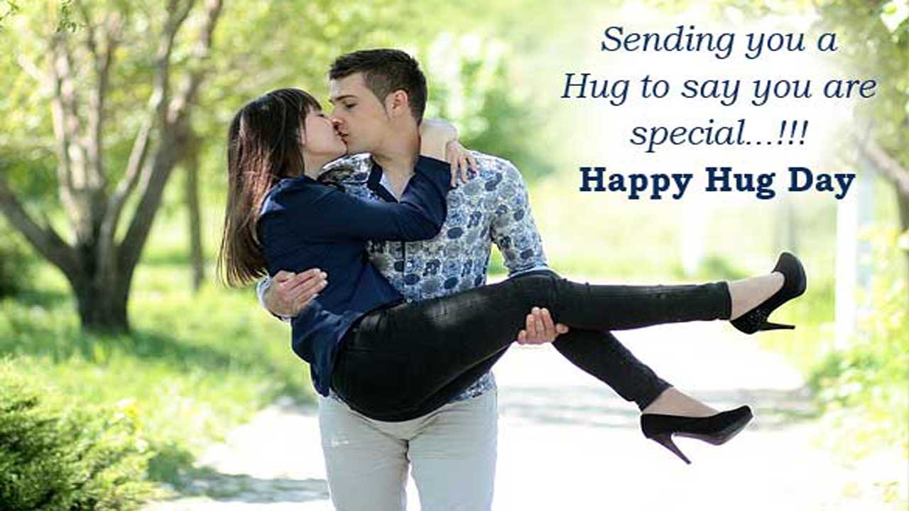 Hug Day Messages in English