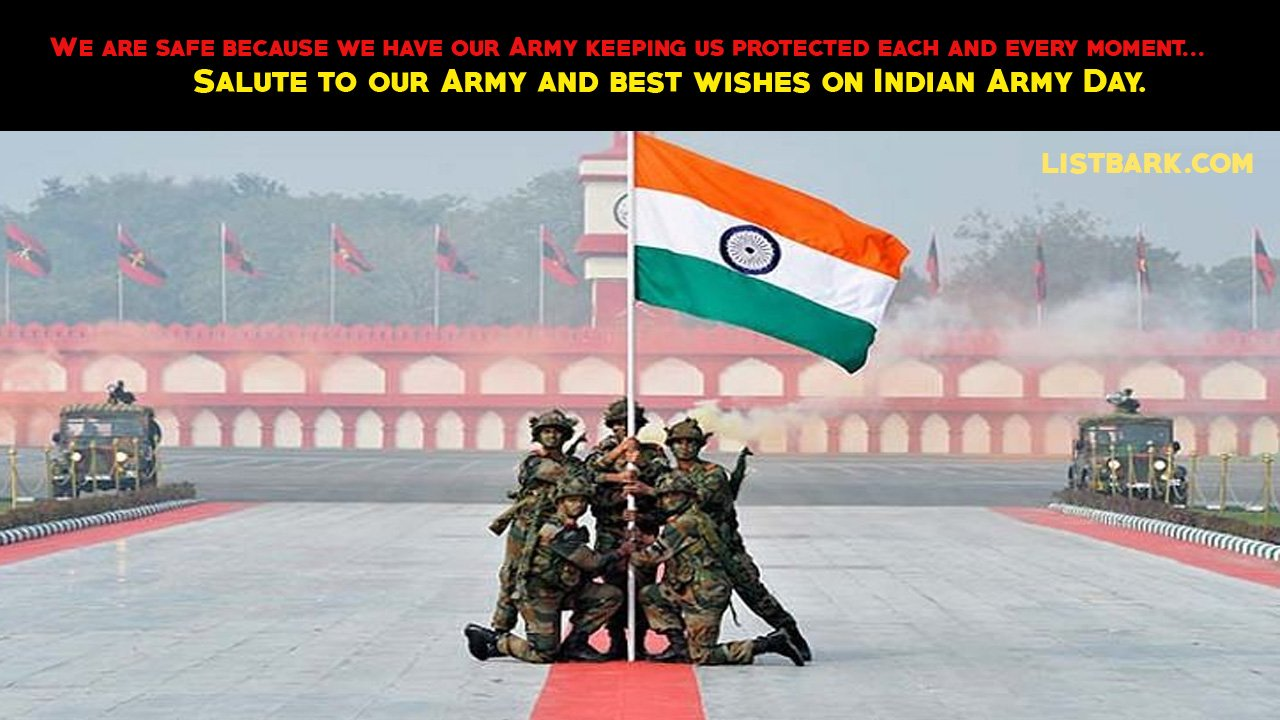 Indian Army Day Text Messages