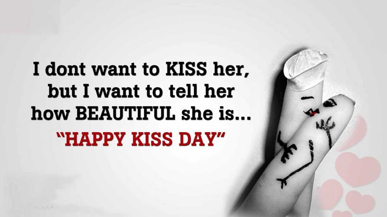 Kiss Day Messages For Friends