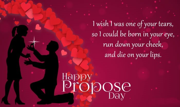 Love Proposal Images With Quotes