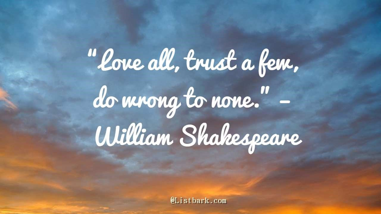 Love Shakespeare Quotes