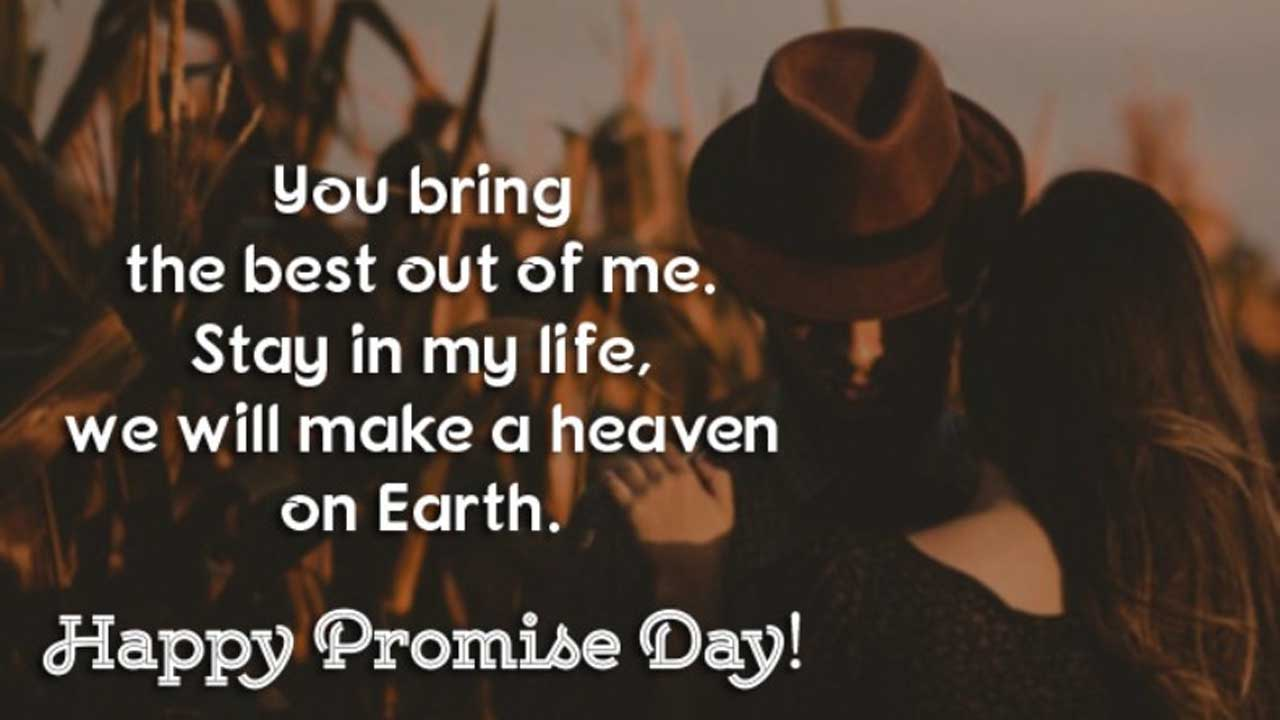 Promise Day Messages in English