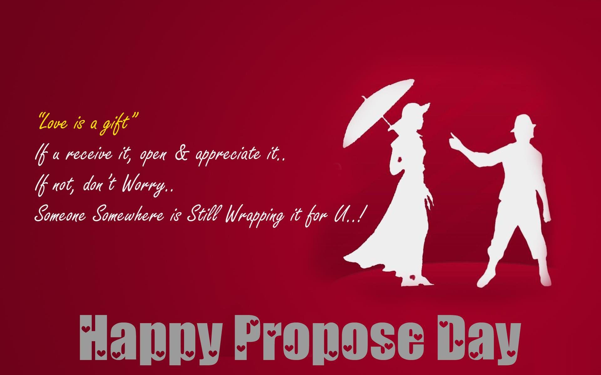 Propose Day Images Msg