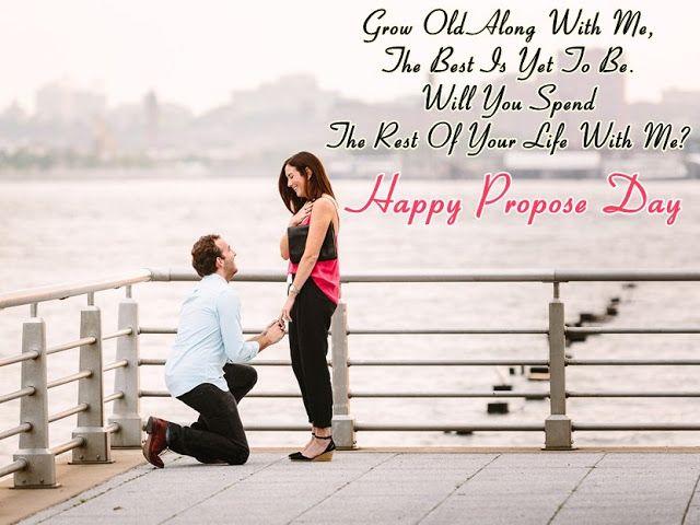 Romantic Propose Pic