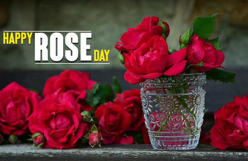 Romantic Rose Day Wishes