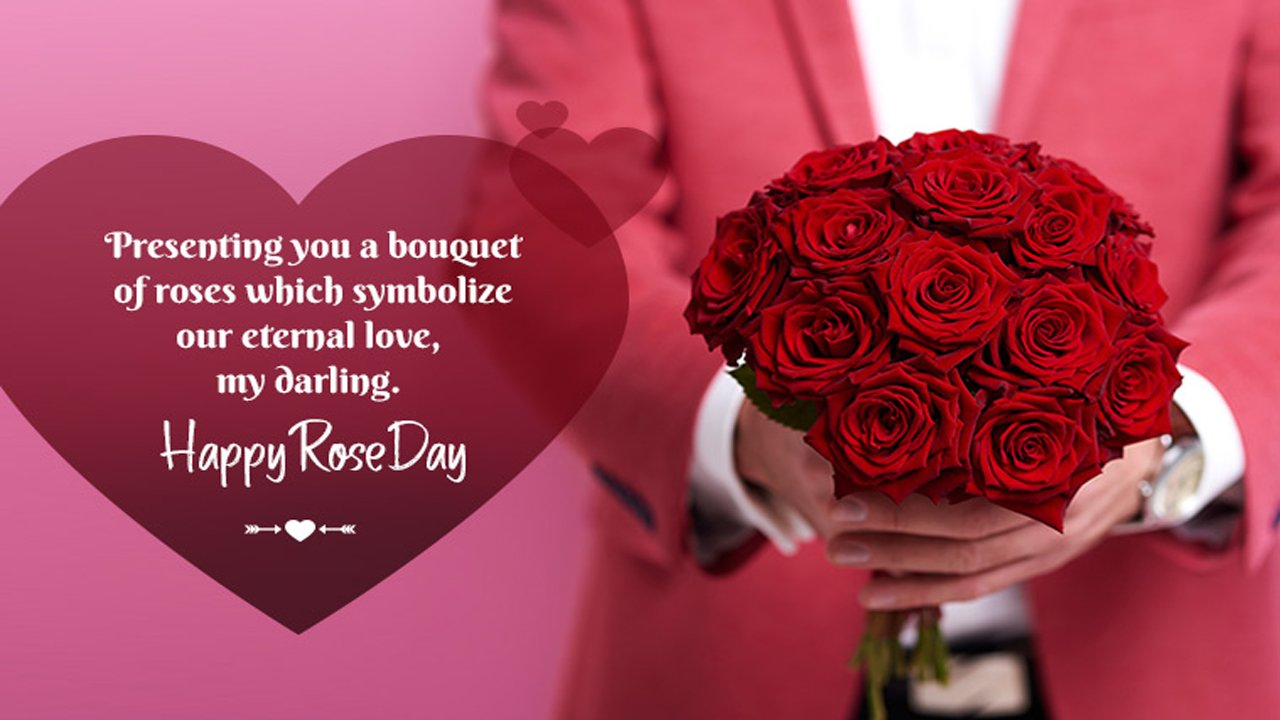 Rose Day Special Lines
