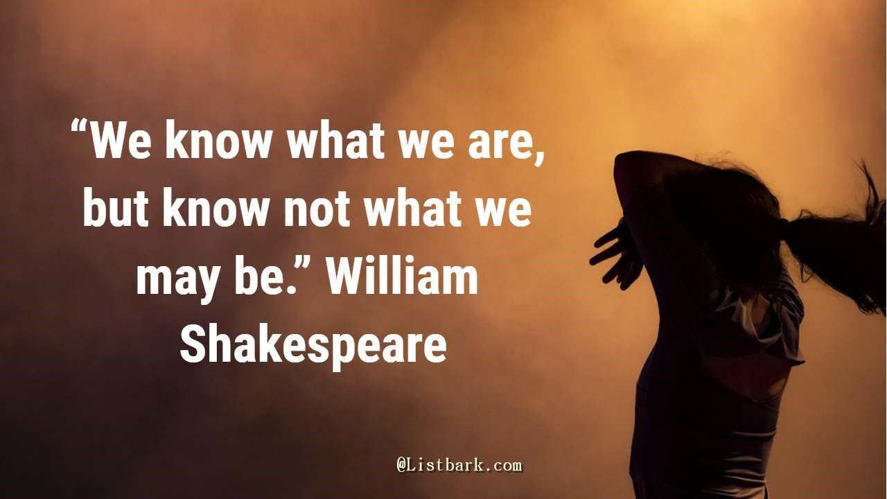 Shakespeare Quotes on Success