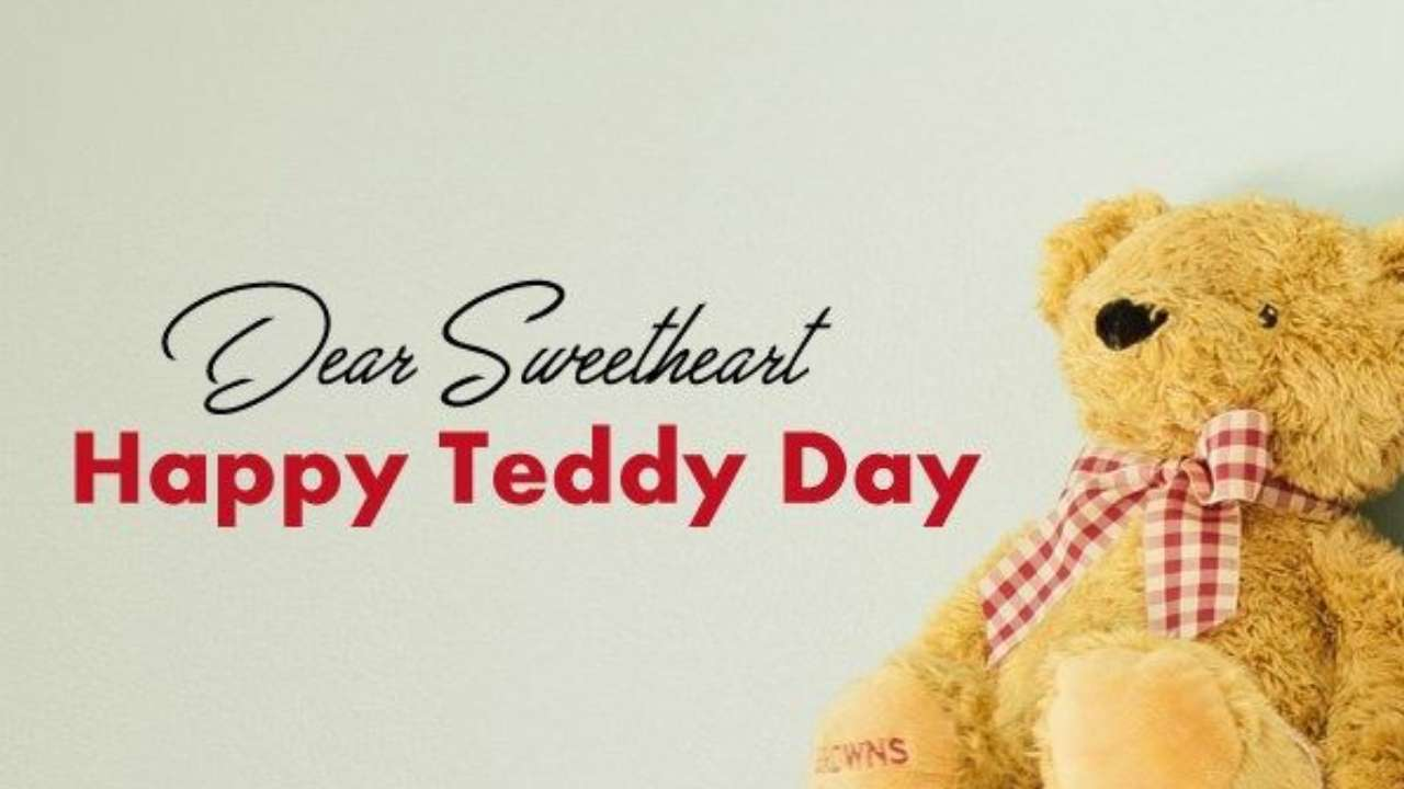 Teddy Day Messages for Husband