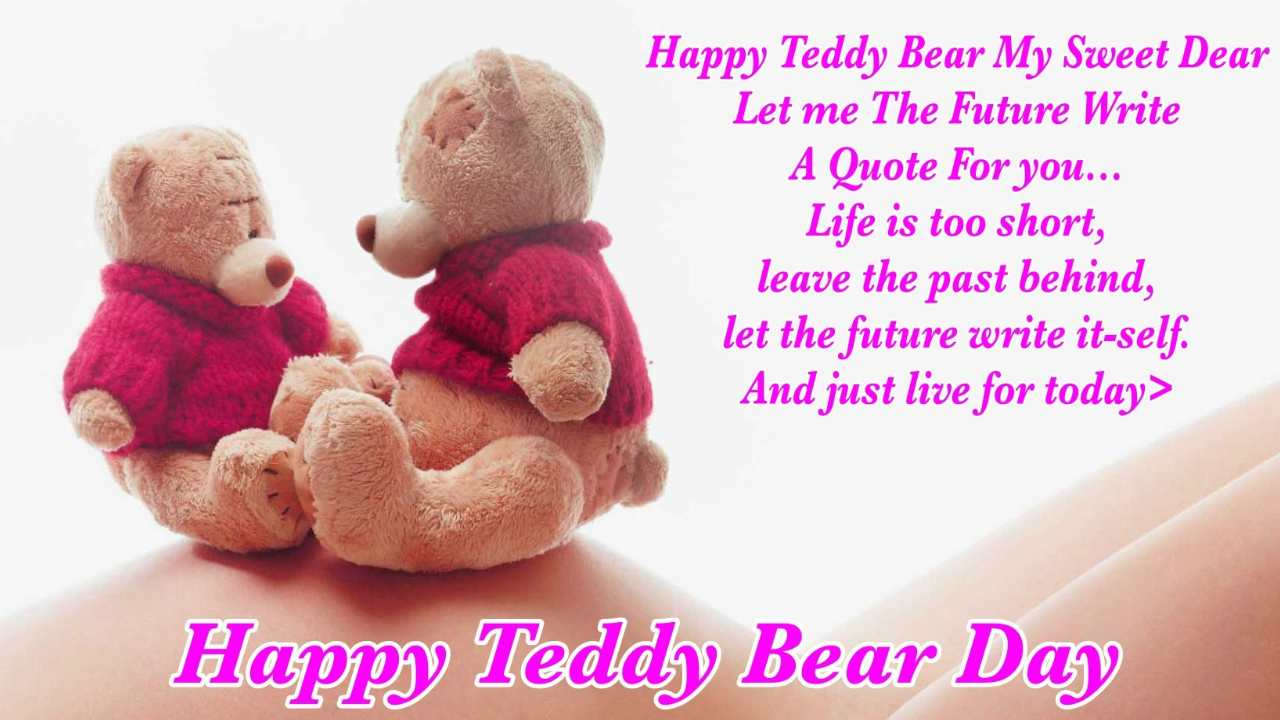 Teddy Day Messages for Love