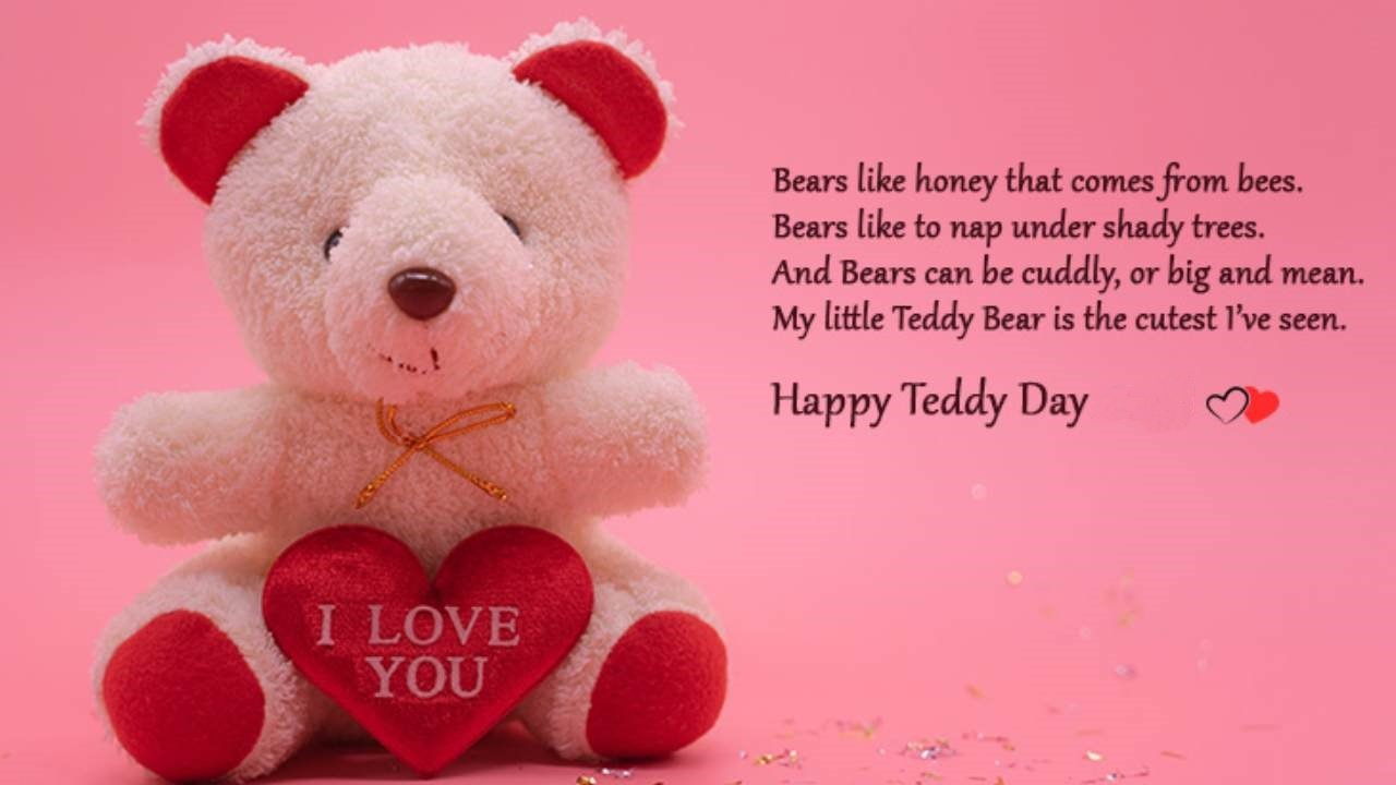 Teddy Day Messages for Whatsapp