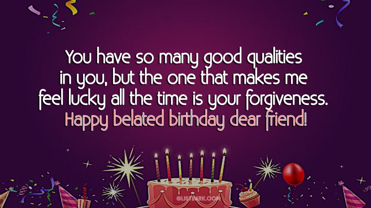 belated birthday friend blessings