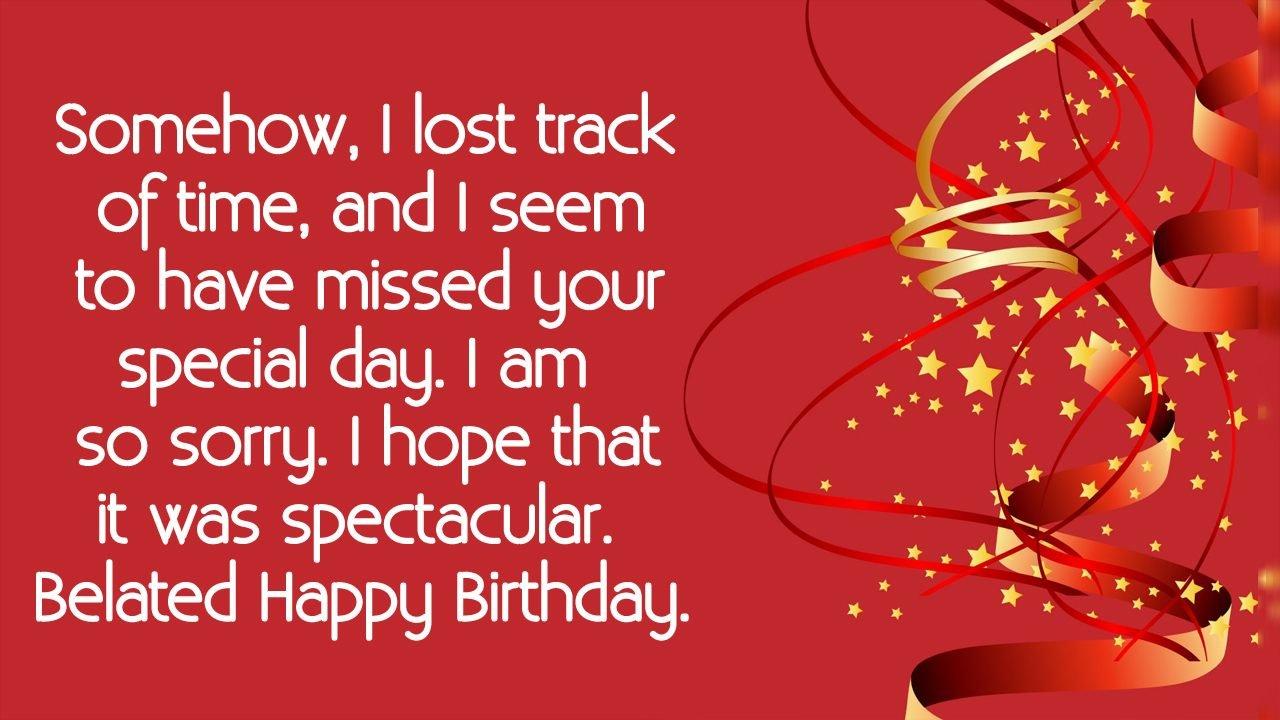 belated happy birthday cards