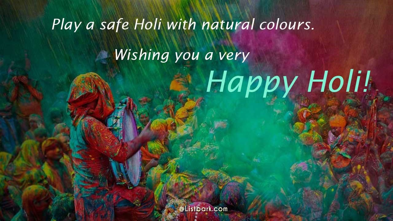 Best Messages For Happy Holi