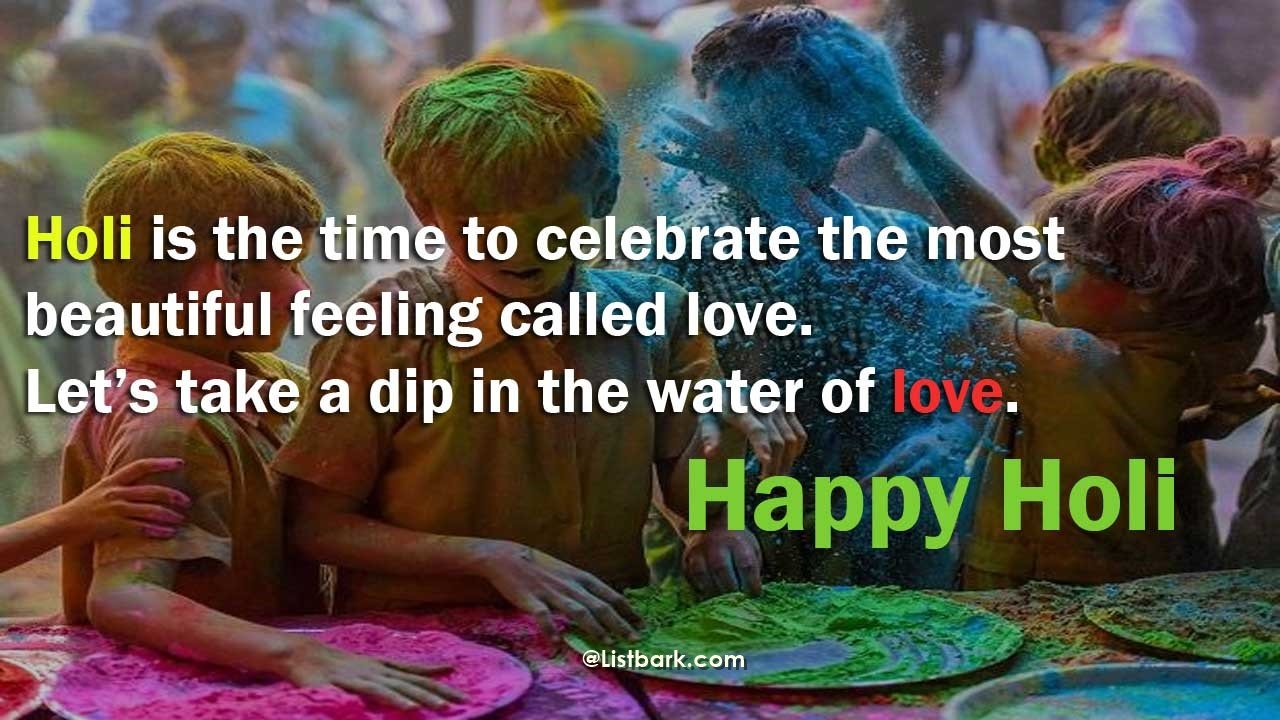 Best Wishes For Happy Holi