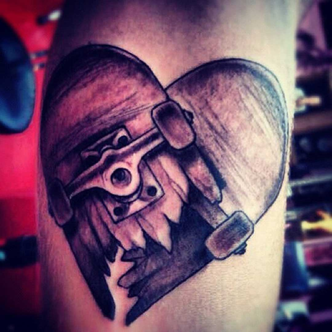 Broken Heart Tattoo Picture