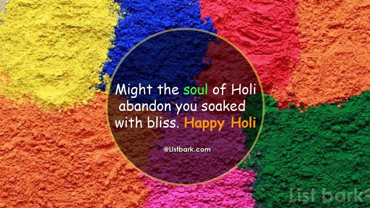Happy Holi Images Quotes
