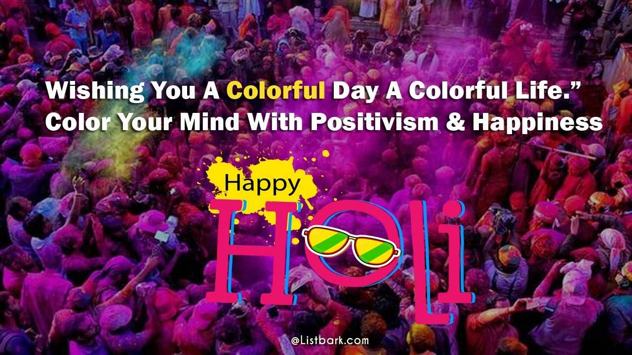 Happy Holi Messages Wishes