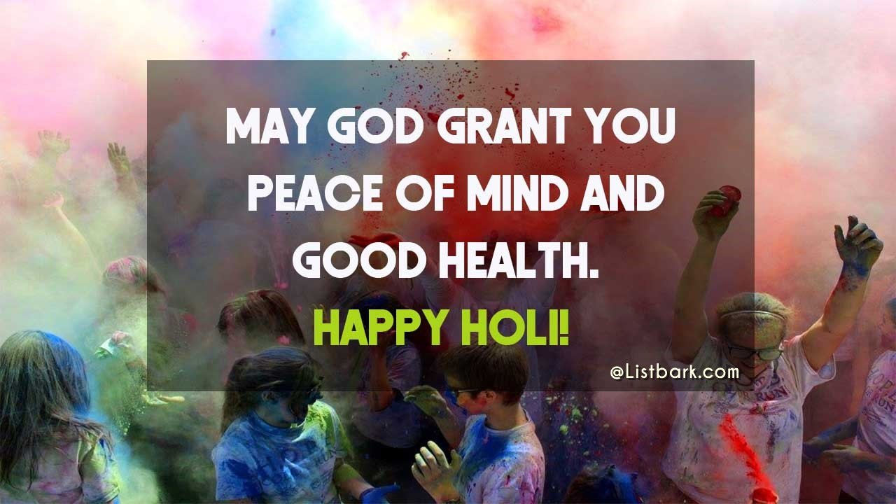 Happy Holi SMS Messages