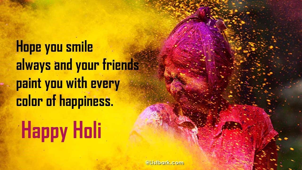 Happy Holi Whatsapp Wishes