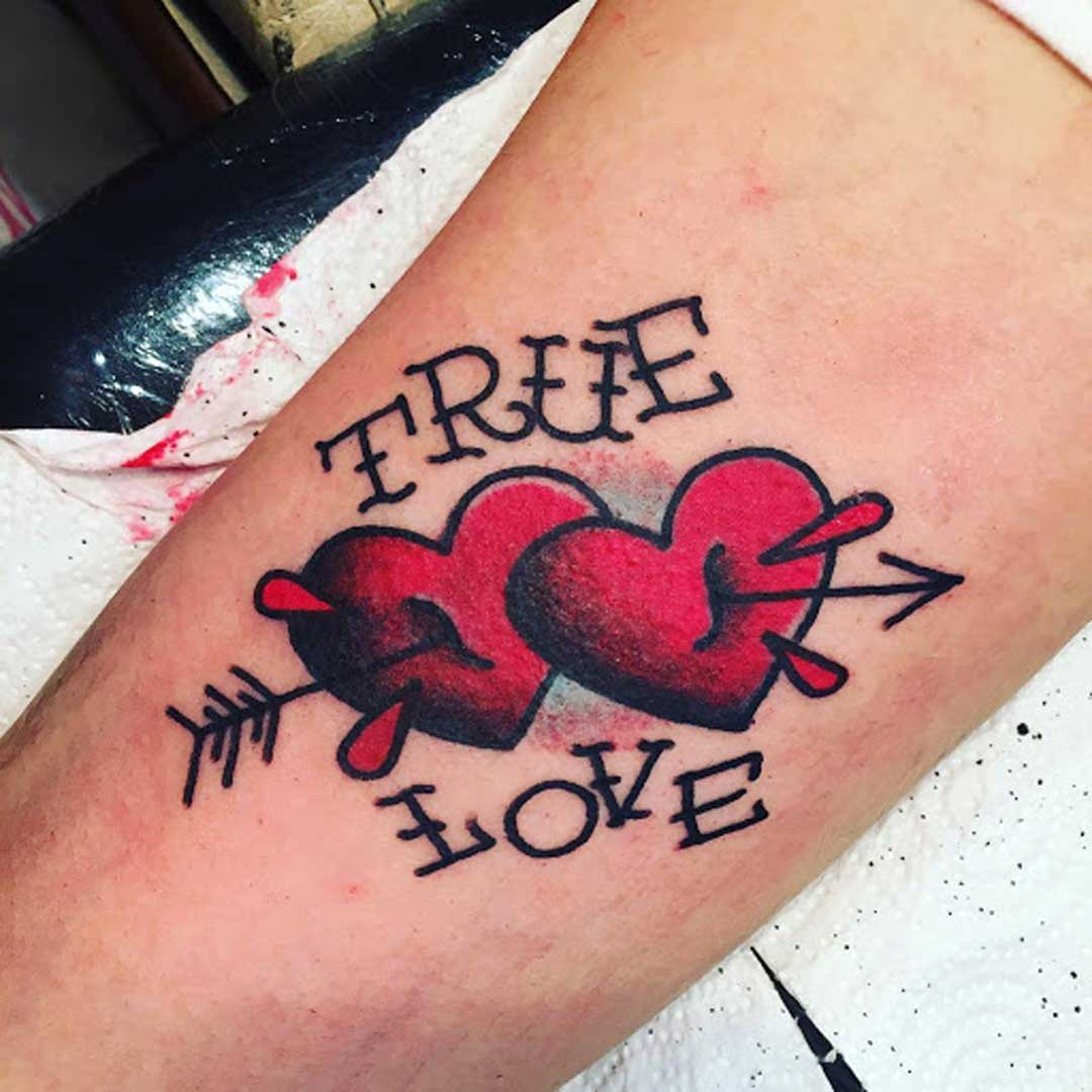 Heart Tattoo Designs with Meanings