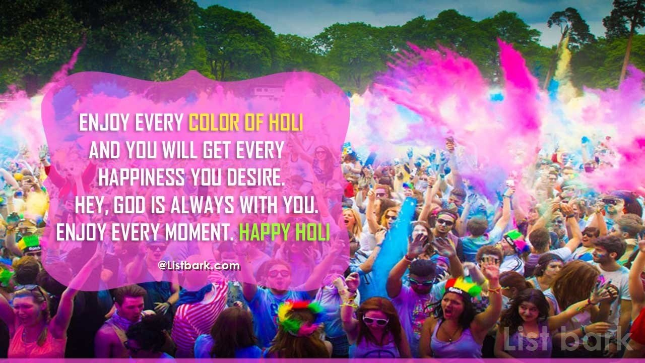 Holi Quotes For Her