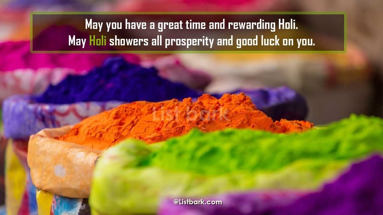 Holi Quotes For Him