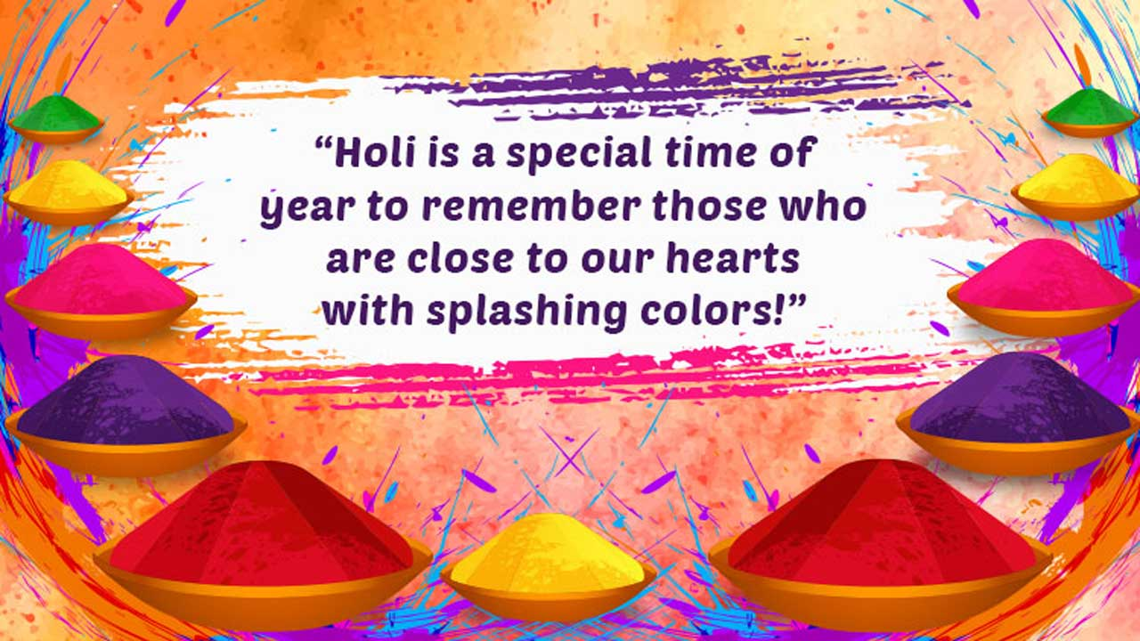 Image For Holi Wishes