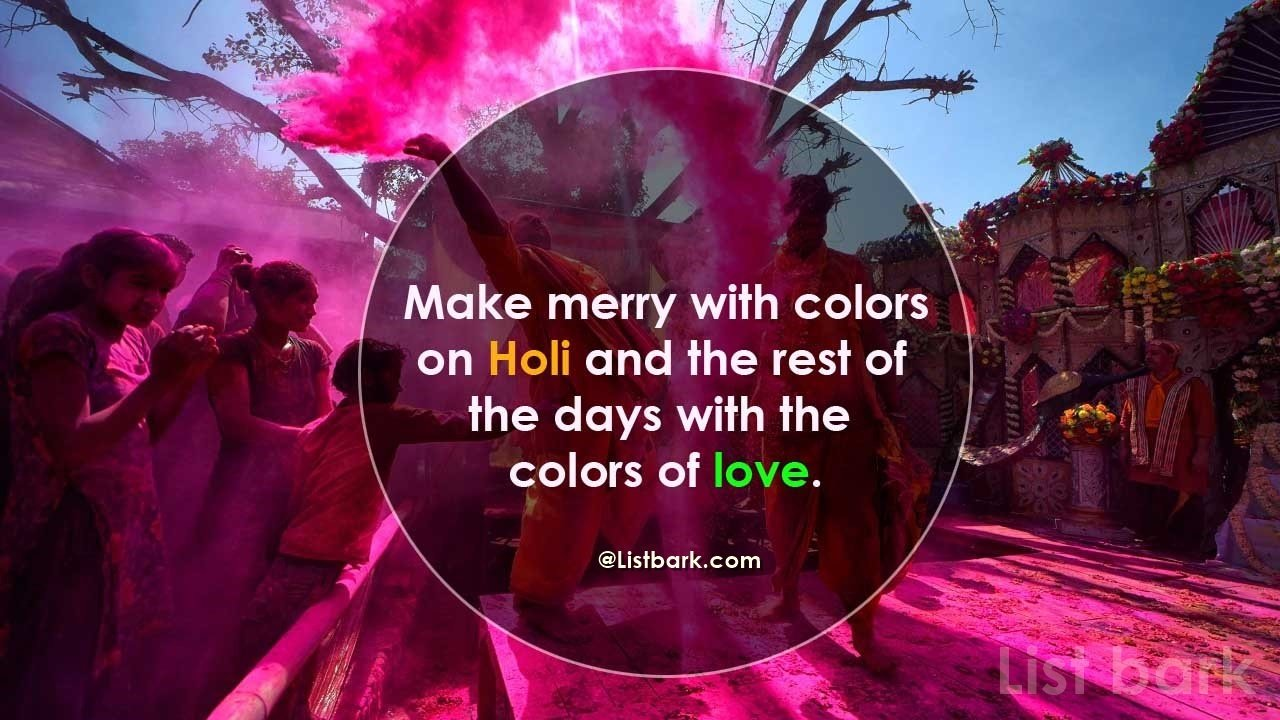 Images For Holi Quotes