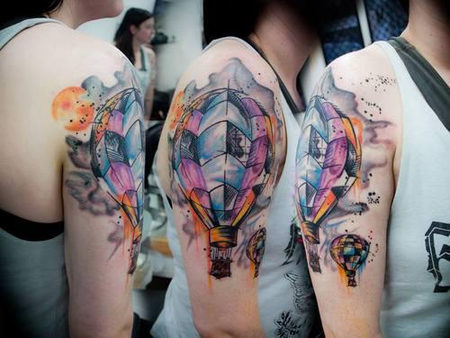 Balloon Tattoo Ideas