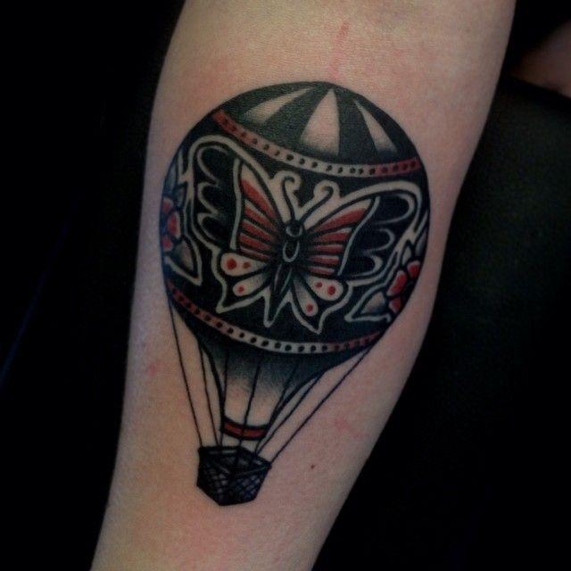 Balloon Tattoo Image