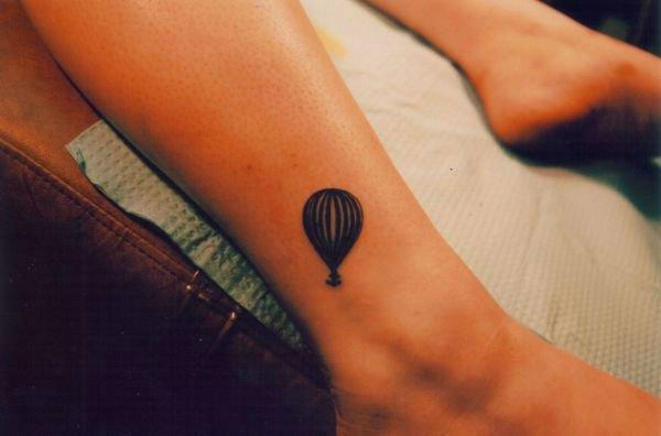Balloon Tattoo On Wrist