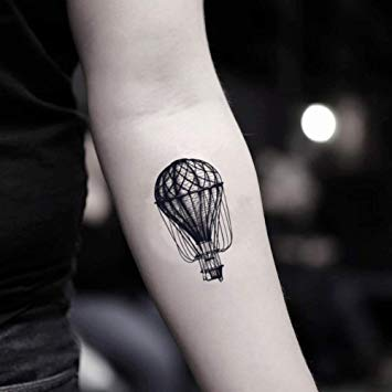 Balloon Tattoo Outline