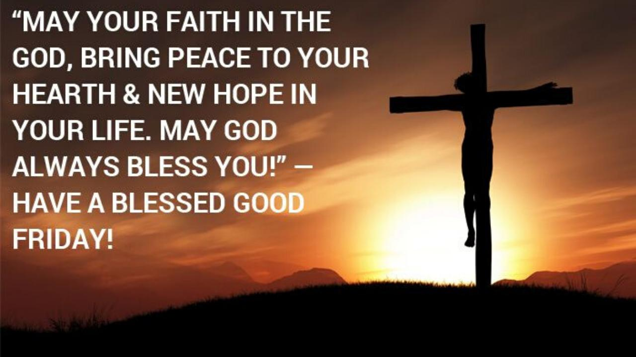 Images for Good Friday Messages